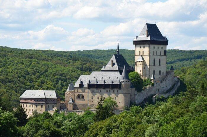 Топ 35 замков в Чешской Республике