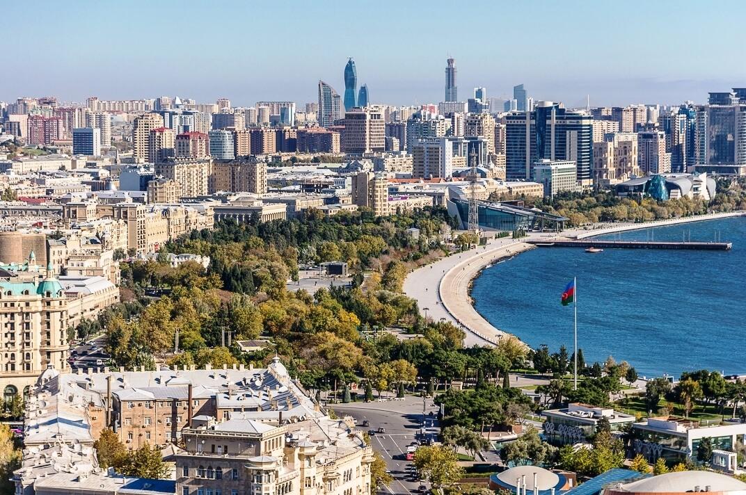 Какое море в азербайджане фото