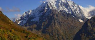 Гора Домбай-Ульген