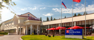Отель «Hilton Garden Inn Moscow New Riga»