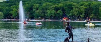 Курортное озеро