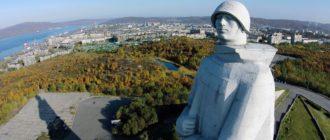 Мемориал «Защитникам Советского Заполярья в годы ВОВ»