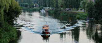 Набережная реки Цны
